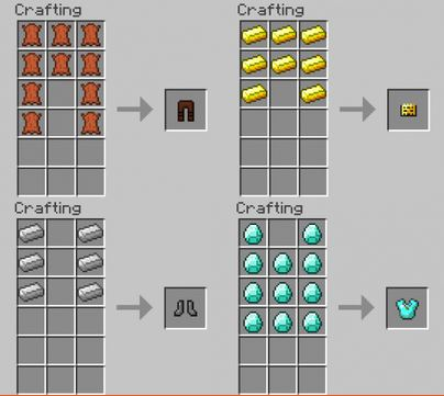 orespawn crafting recipes 1.7.10